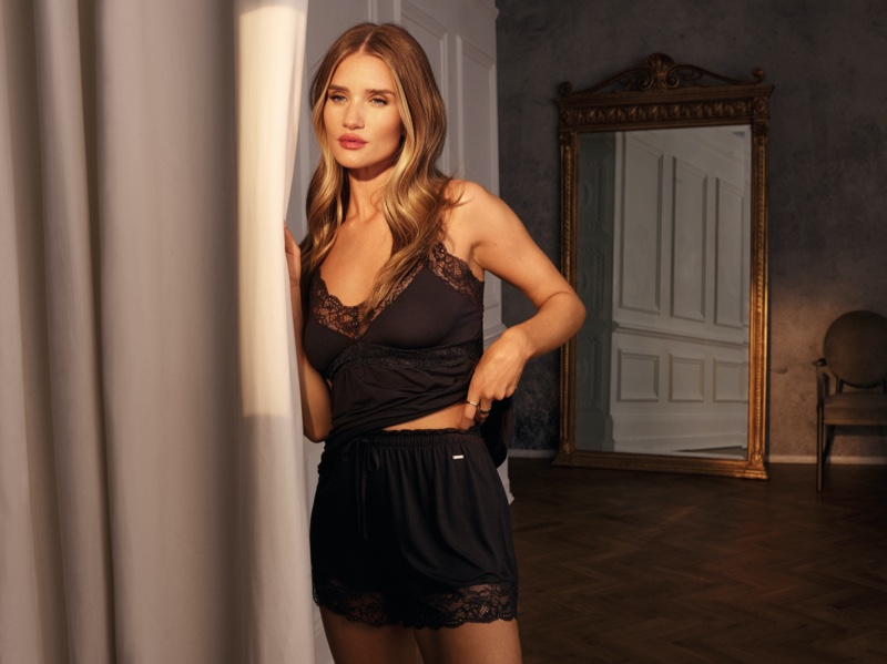 Model Rosie Huntington-Whiteley designs Marks & Spencer collaboration for summer 2021.