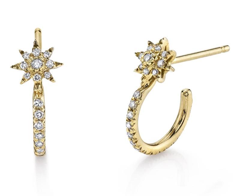 Shay Diamond Pave Star Huggie Hoop Earrings $1,250