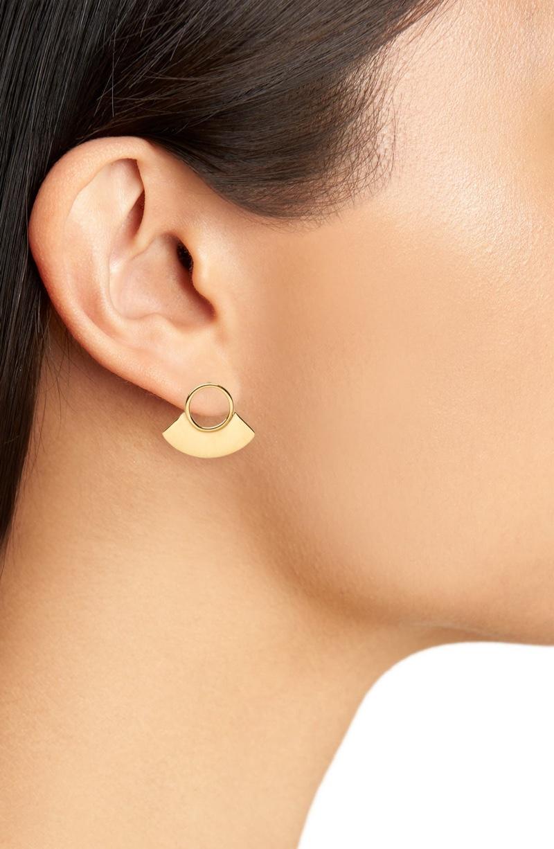 Soko Petite Paddle Stud Earrings $68