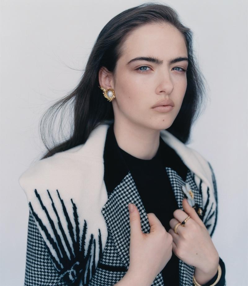 Stella Jones Shines in Luxury Jewelry Styles for WSJ. Magazine