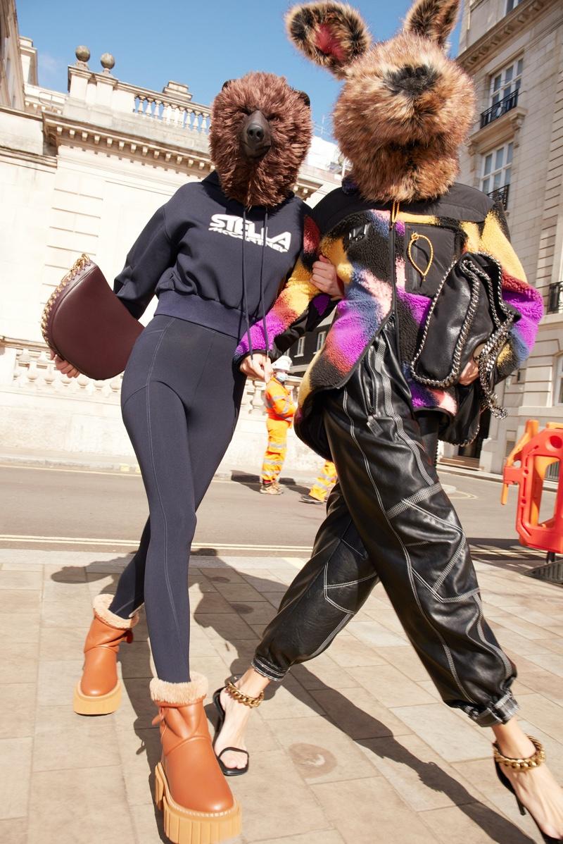 Mert & Marcus photograph Stella McCartney fall 2021 campaign.