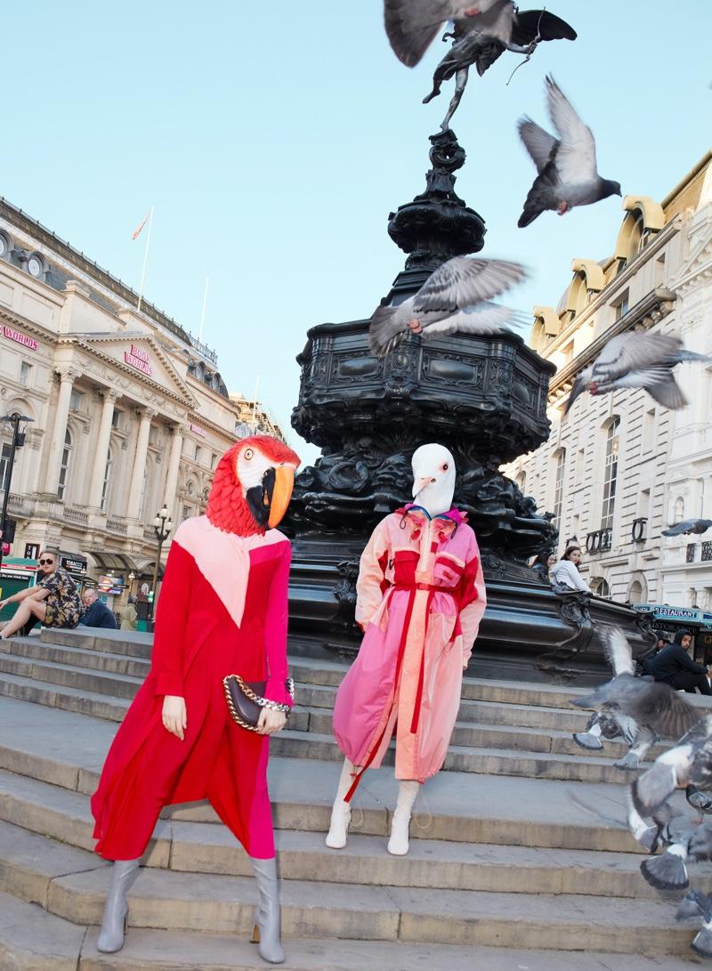 Stella McCartney celebrates cruelty-free fashion with fall 2021 campaign.