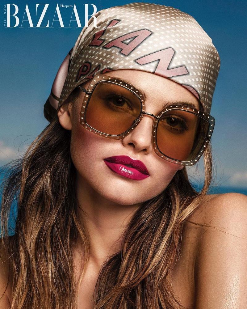 Thylane Blondeau Stuns in Summer Beauty for Harper's Bazaar Vietnam