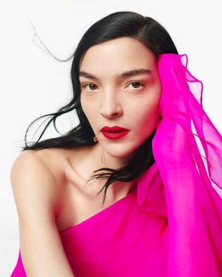 Valentino Beauty Makeup Campaign.
