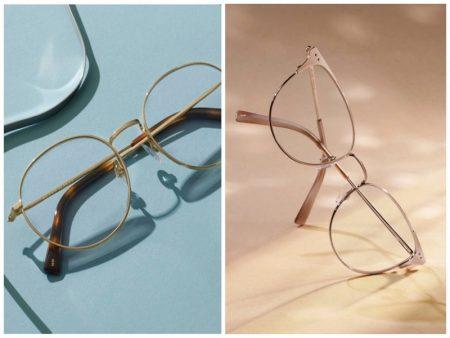 Warby Parker Metal Edit glasses eyewear.