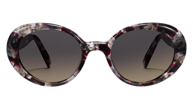 Warby Parker Renee Sunglasses in Garnet Tortoise $95