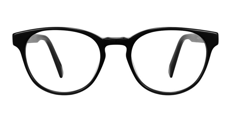 Warby Parker Whalen Glasses in Jet Black $95