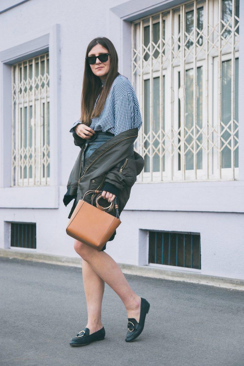 Woman Wearing Loafers