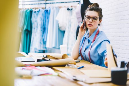 Woman with Fashion Business