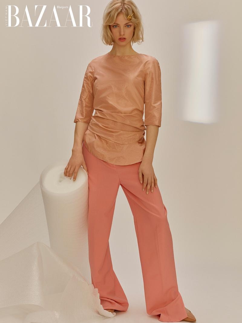 Xara Giulia Takes the Spotlight for Harper's Bazaar Vietnam
