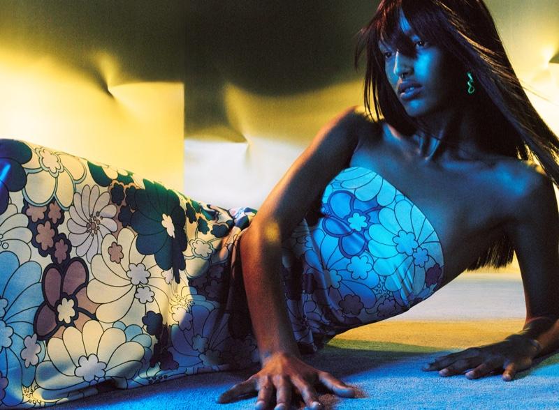 Zara Floral Print Midi Dress.