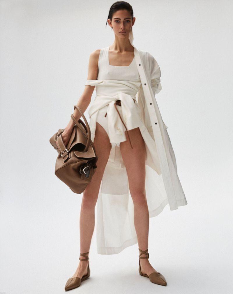 Ana Gaviño Osorno Wears Tailored Looks for Vogue Czechoslovakia