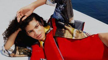 Antonella Delgado Poses in Vacation Looks for Marie Claire Turkey