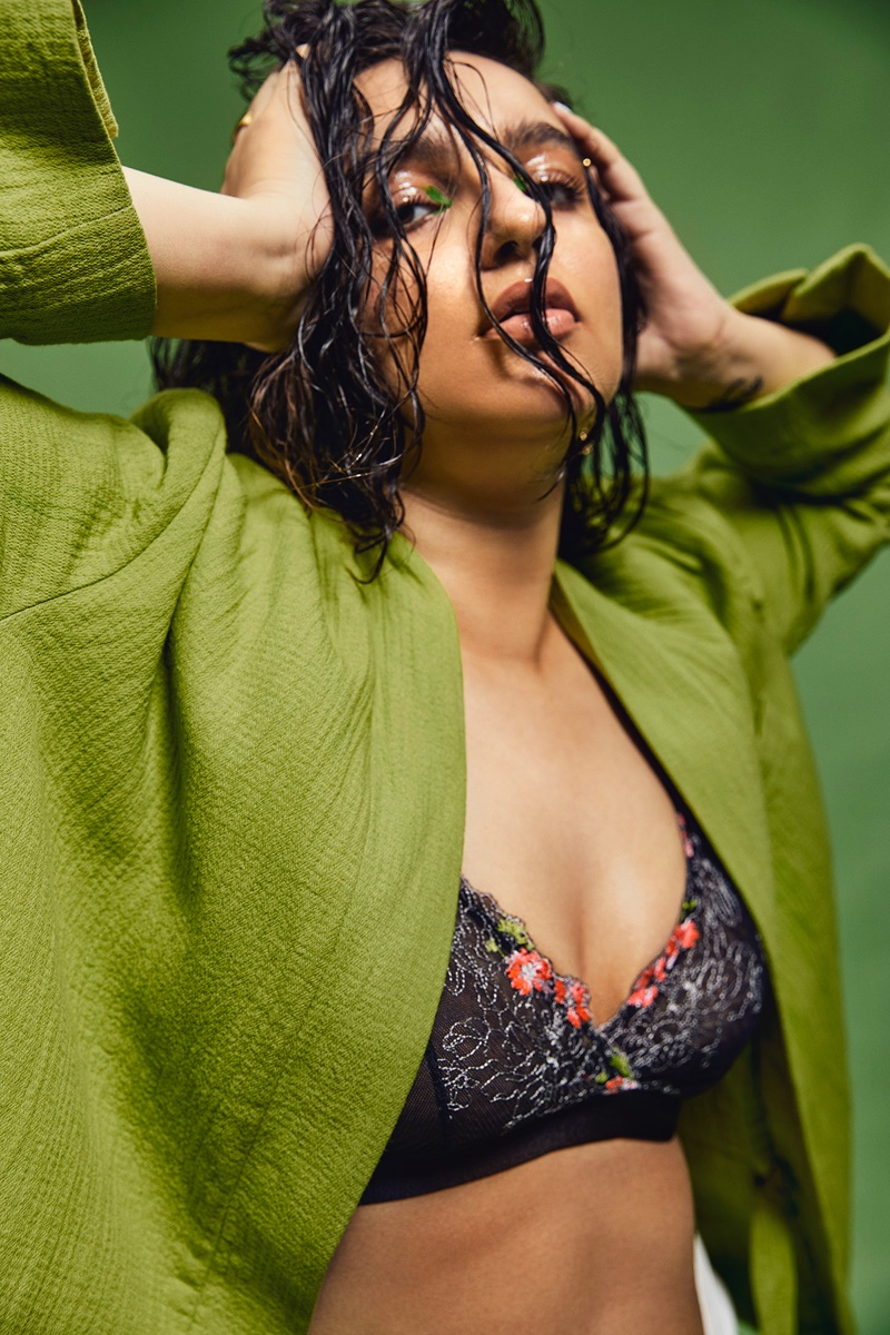 Apoorva Rampal Models Statement Styles for Grazia India