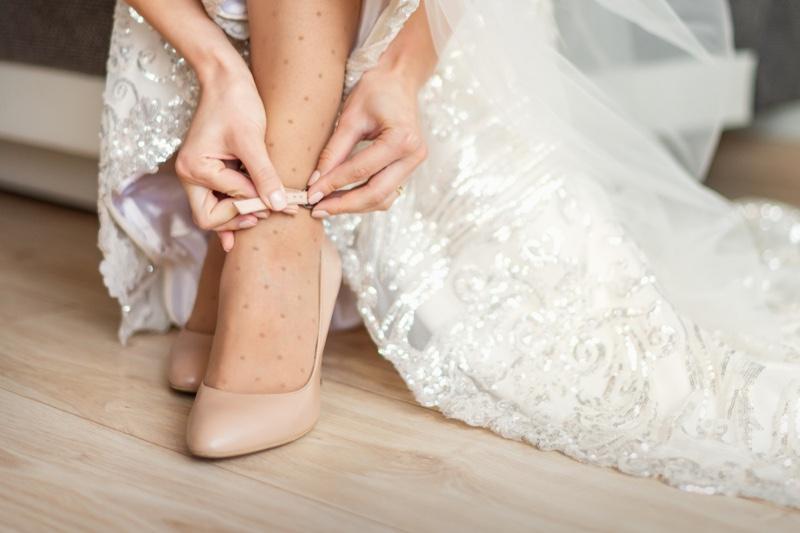 Bride Ankle Strap Heel Shoes