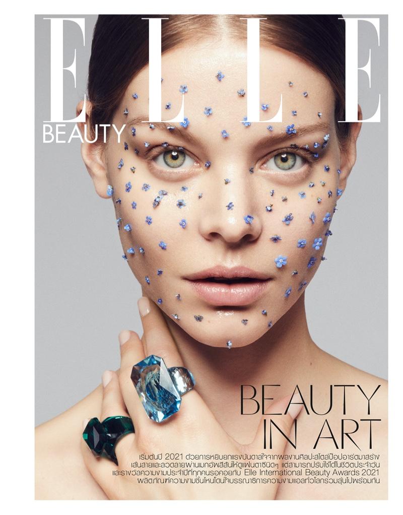 Carolin Loosen Embraces Eco Beauty for ELLE Thailand