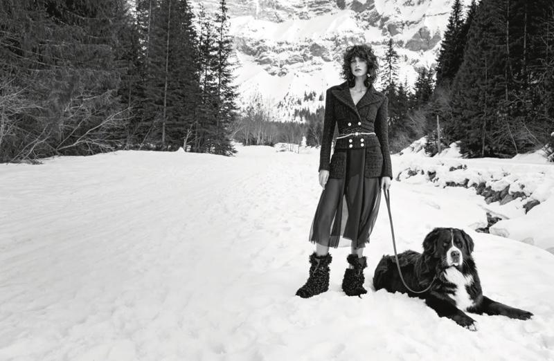 Chanel fall-winter 2021 campaign.