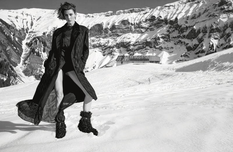An image from Chanel's fall 2021 advertising campaign.