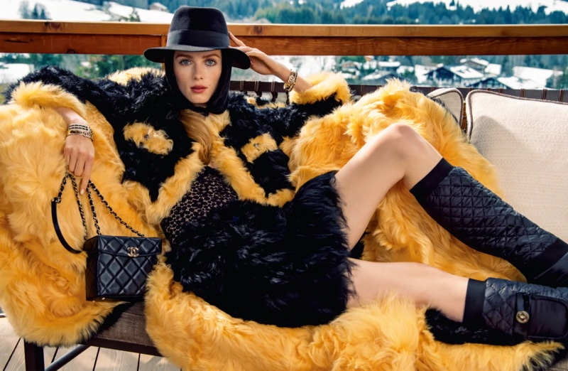 Chanel unveils fall-winter 2021 campaign.