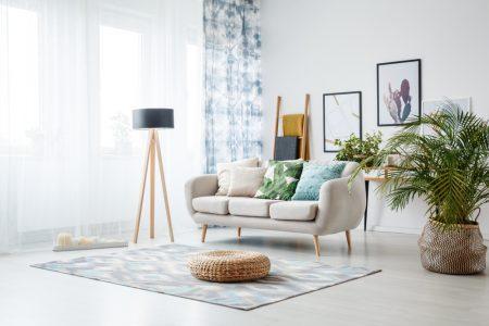 Clean Living Room Design