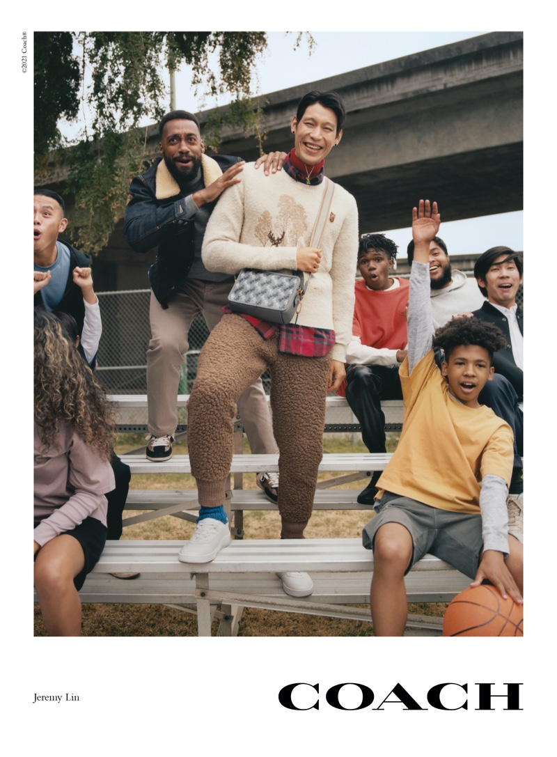 Coach launches fall 2021 campaign with Jeremy Lin.
