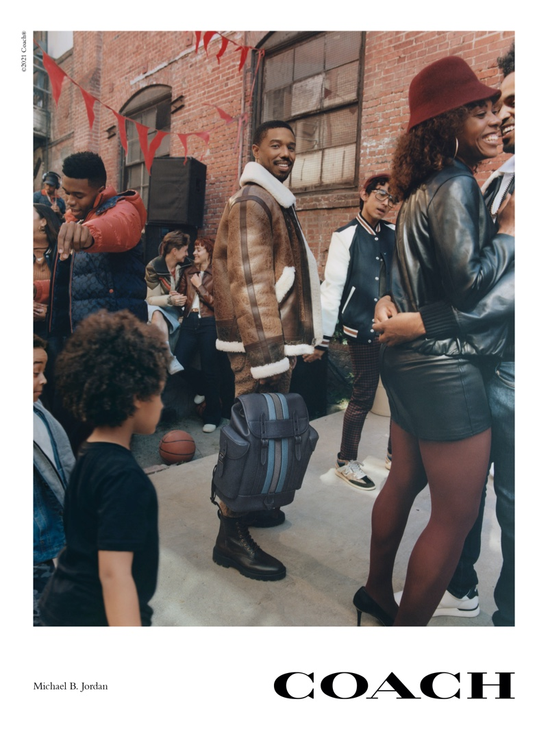 Coach unveils fall 2021 campaign with Michael B. Jordan.