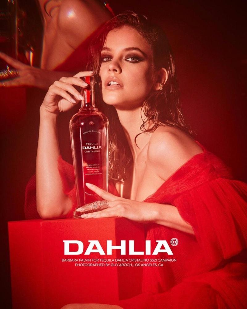 Barbara Palvin stars in Dahlia Tequila campaign.