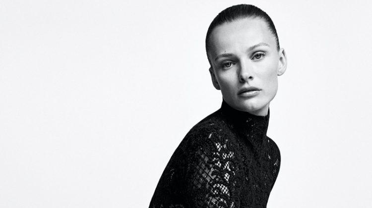 Edita Vilkeviciute stars in Ermanno Scervino fall-winter 2021 campaign.
