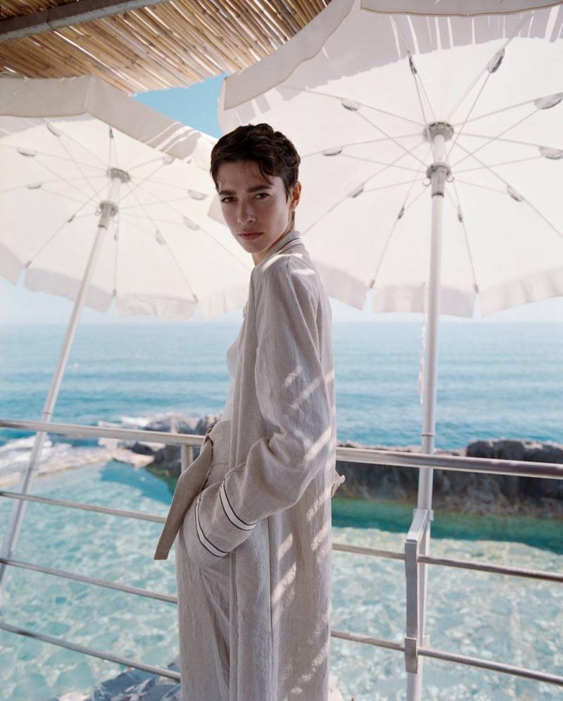 Louise de Chevigny stars in Giorgio Armani summer 2021