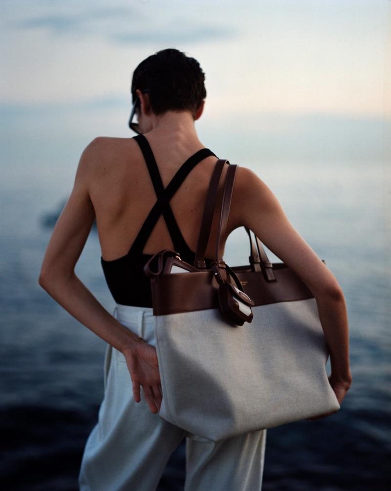 Summer 2021 accessories from Giorgio Armani.