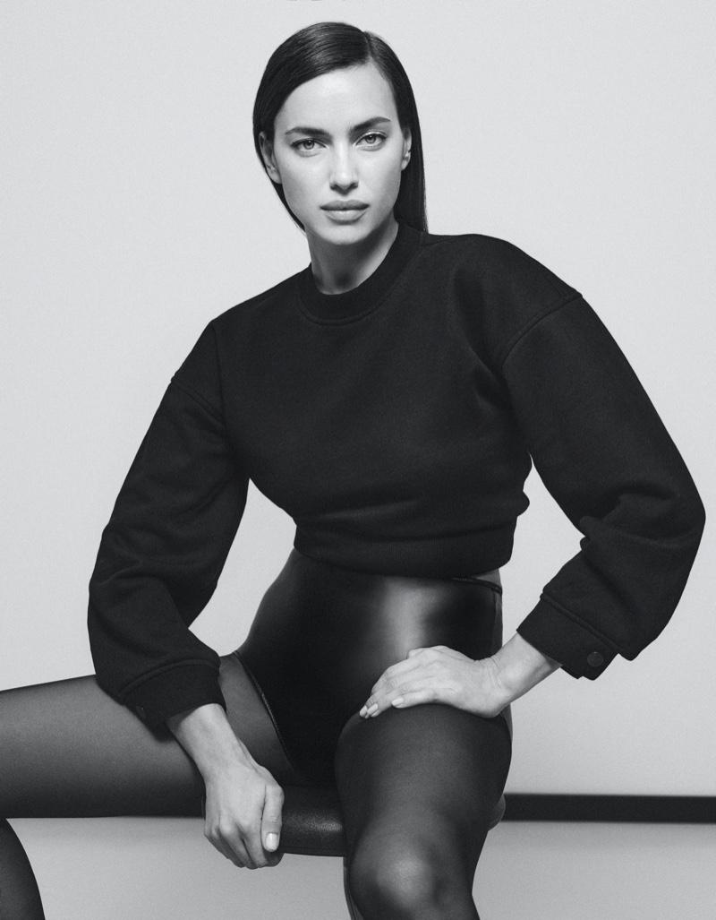 Irina Shayk stars in DL1961 fall-winter 2021 campaign.