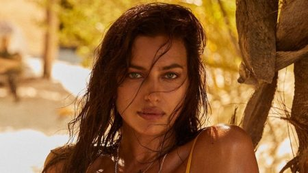 Candice, Irina & Joan Sizzle in REVOLVE x Tropic of C Swimsuits