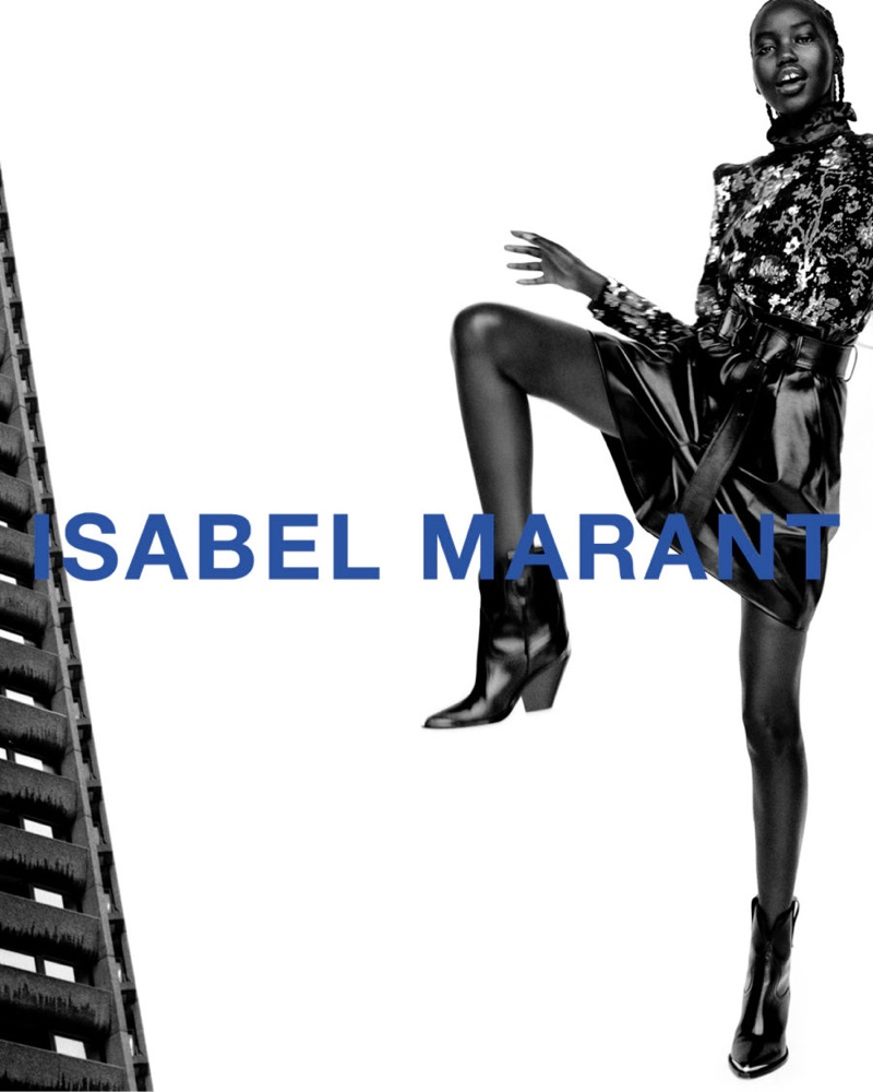 Isabel Marant unveils fall-winter 2021 campaign.