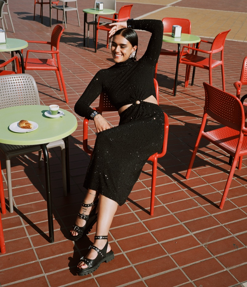 Jill Kortleve Models Glam Style in Italy for WSJ. Magazine