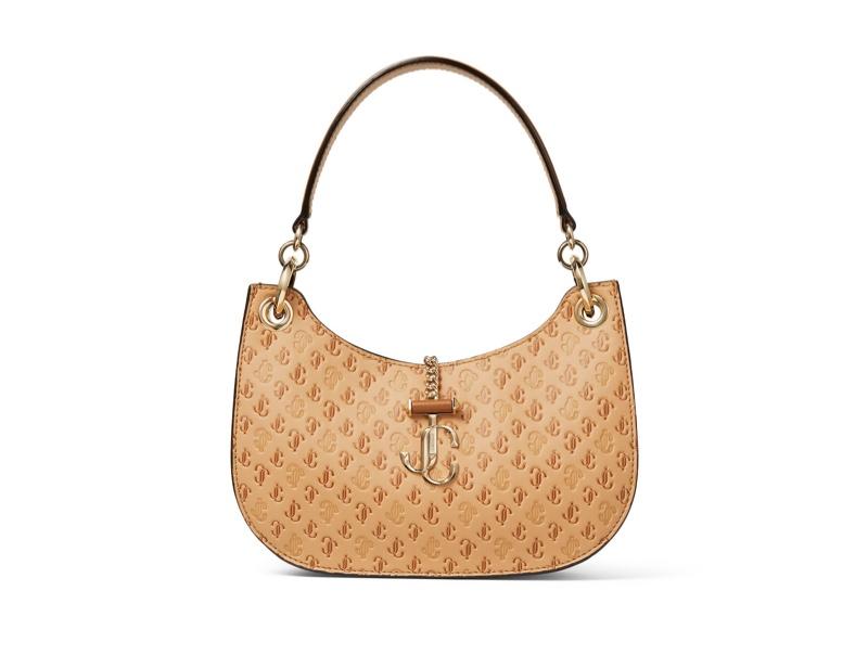 Jimmy Choo Varenne Hobo Caramel Bag $1,250
