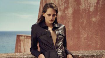 Jip Boxstart Wears Sleek Pre-Fall Looks for Vogue Greece