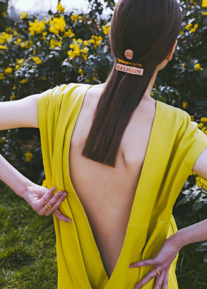 Karina Dziuba Wears Vibrant Styles for Vogue Hong Kong