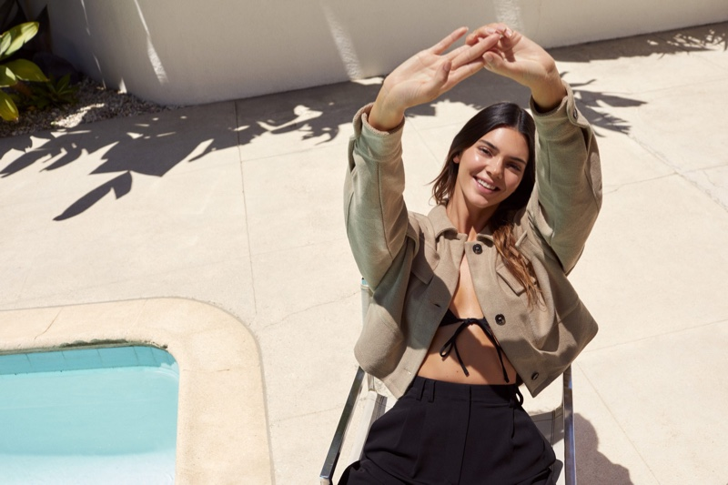 All smiles, Kendall Jenner fronts Kendall for About You campaign.
