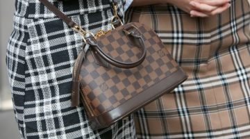 Louis Vuitton Checkered Bag