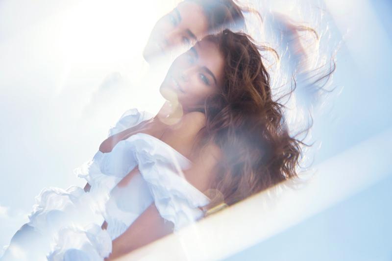 Madison Beer stars in Victoria's Secret Tease Crème Cloud fragrance campaign.