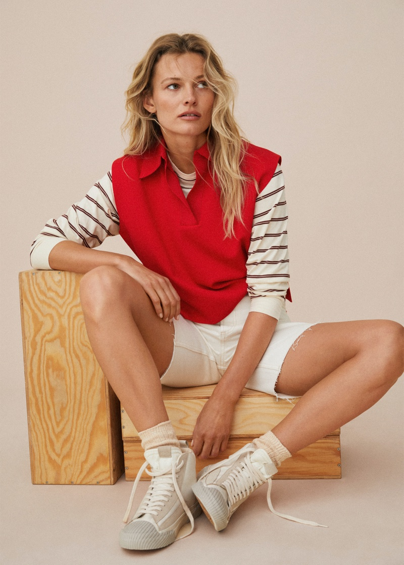 Mango Athleisure Ace Your Game 2021 Trend Guide.