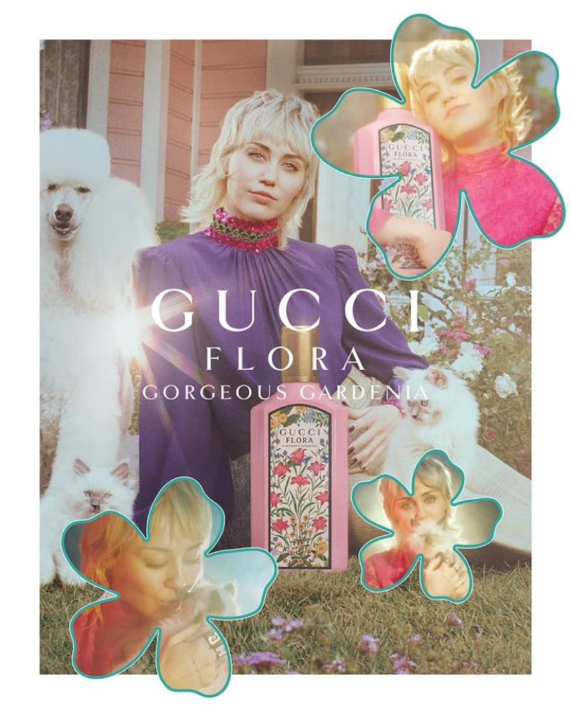 Gucci unveils its Flora Gorgeous Gardenia eau de parfum campaign.
