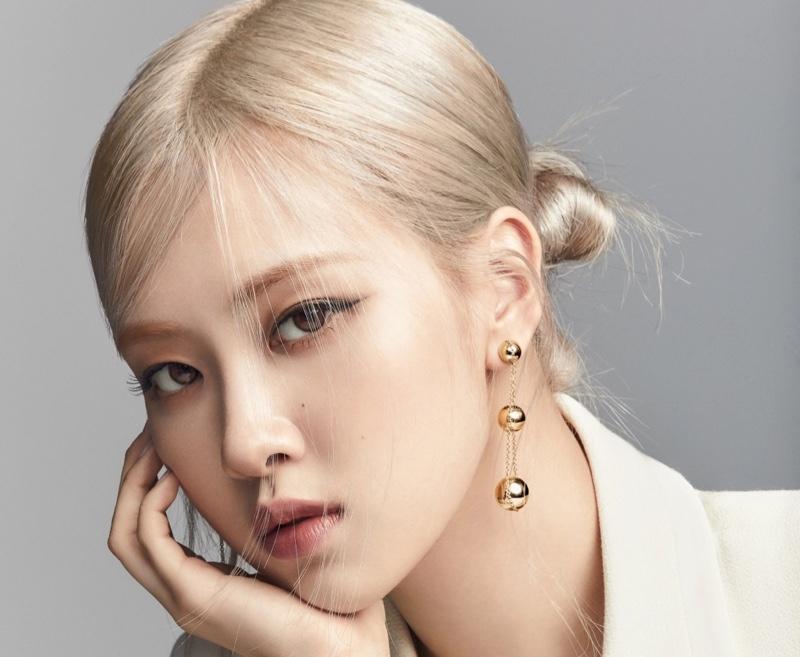 Rosé stars in Tiffany & Co. 2021 Tiffany Hardwear campaign.