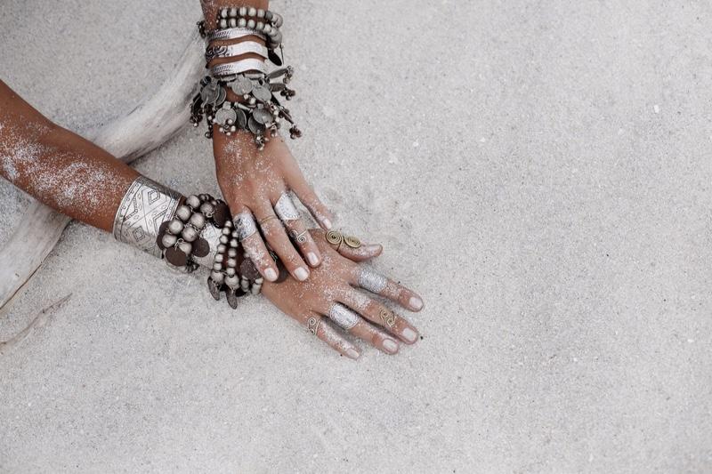 Silver Jewelry Boho Tribal Bracelets