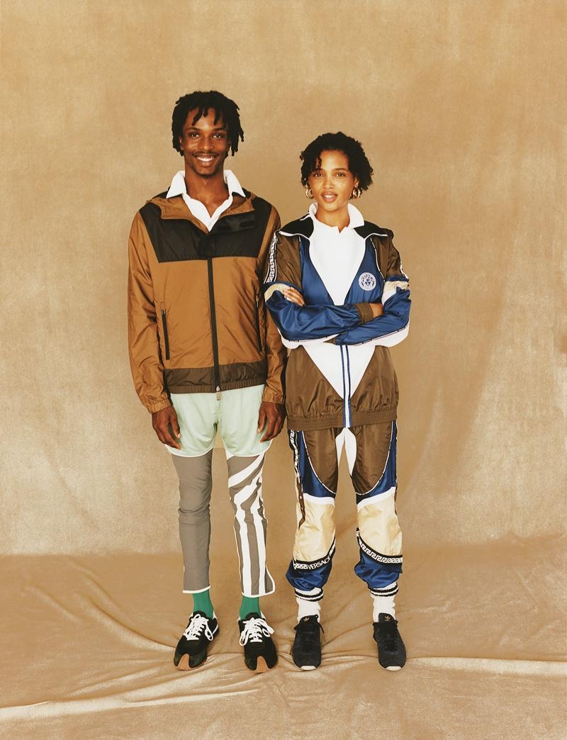 Aya & Somali Wear Athletic Outfits for WSJ. Magazine