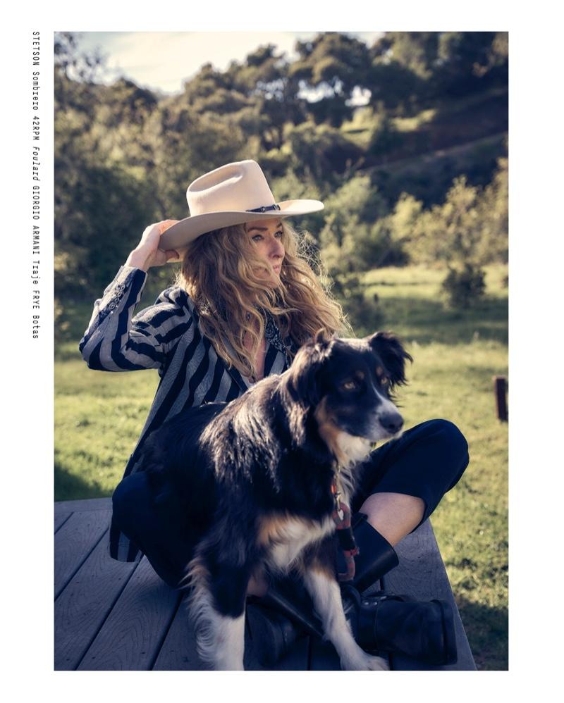 Tatjana Patitz Embraces the Outdoors for M Milenio Magazine