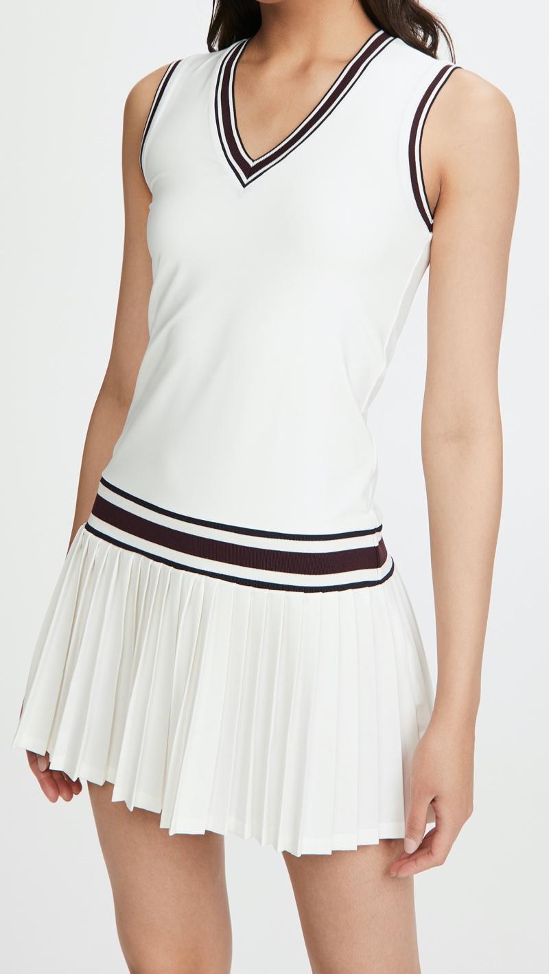 Tory Sport Performance V Neck Tennis Dress $228