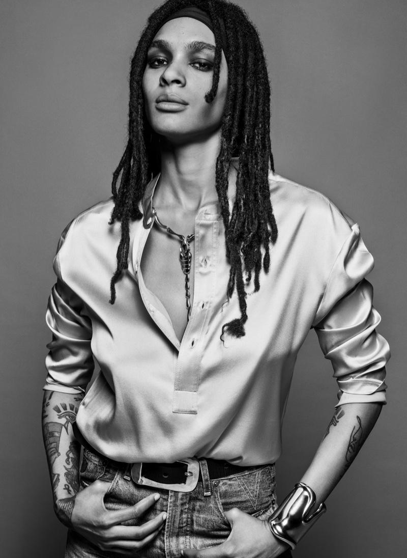 Nyja Abdullah. Image: Courtesy of V Magazine / Inez & Vinoodh