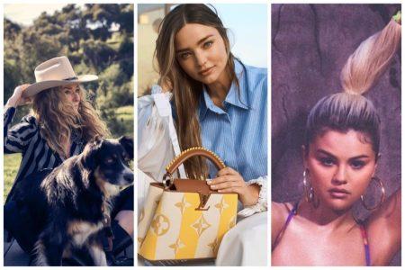 Week in Review   Tatjana's New Cover, Miranda Kerr for Louis Vuitton, Selena Gomez's Swimwear + More