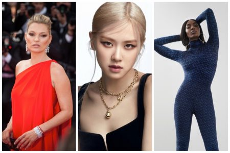 Week in Review   Naomi Campbell in Burberry, Kate Moss for SKIMS, ROSÉ in Tiffany & Co. + More